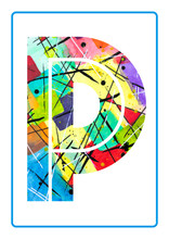 Abstract Painting Watercolor T...