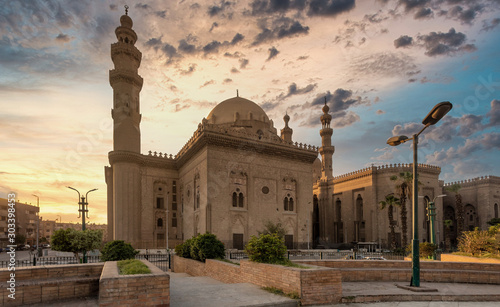 Fotografie, Tablou Mosque-Madrassa of Sultan Hassan, Egypt