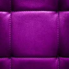 Square Shiny Dark Lilac Leathe...