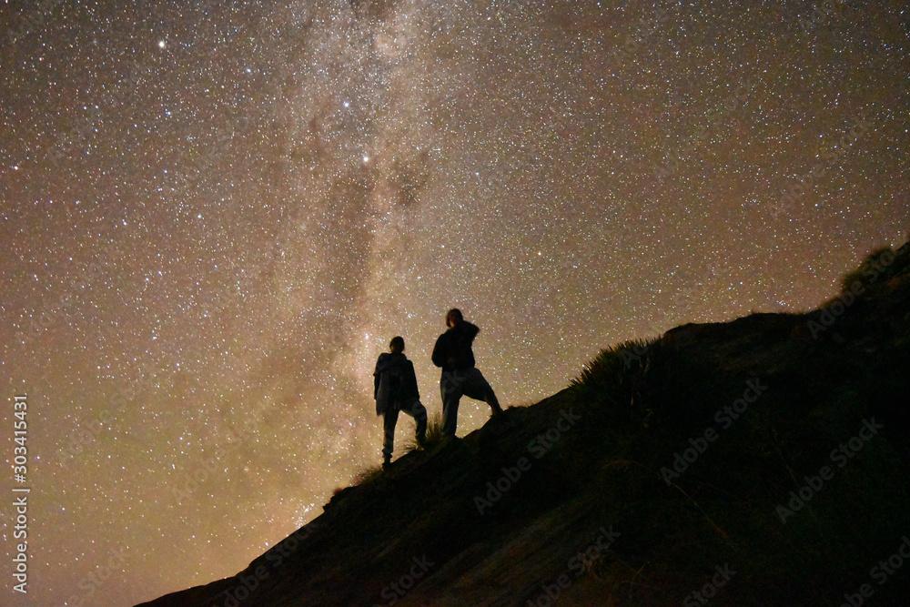 Fototapety, obrazy: starry night