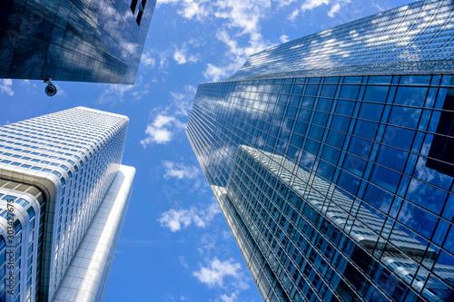 Fotografía Skyscrapers of Frankfurt City