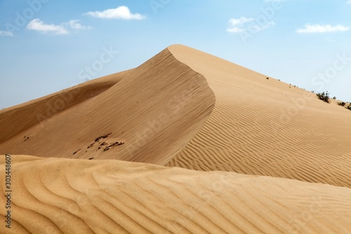 Canvas Print Cerro Blanco sand dune near Nasca or Nazca town in Peru