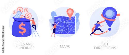 Fotografía GPS navigation service application