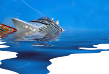 Cruise Ship Sinking In The Ocean