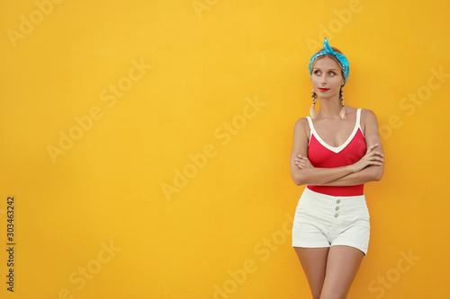 Summer urban fashion Canvas-taulu