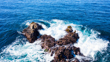 Pebble Beach, Carmel, Monterey, Big Sur Ocean Aerial View
