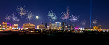Fireworks Over The Las Vegas S...