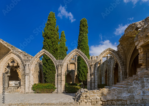 Bellapais Abbey monastery - Kyrenia (Girne) Northern Cyprus Canvas Print