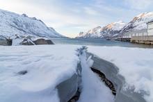 Icey Creek In Norwegian Fjord