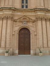 Malta La Valletta Church Door ...