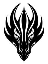 Dragon Face Symbol