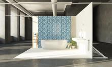 Bathroom On Showroom