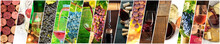Wine Collage. A Panorama Of Ma...