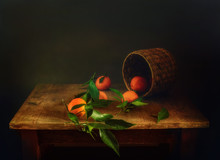 Still Life With Tangerines And...