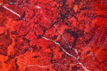 Abstract Texture, Semiprecious Red Stone, Close Up, Macro