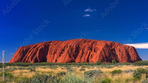 Obraz オーストラリア・ウルルの風景 1 - fototapety do salonu