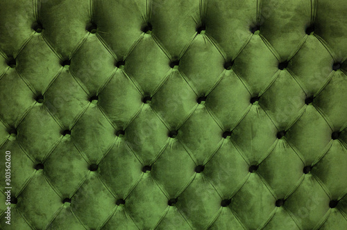 Fotografía  Chesterfield style quilted upholstery backdrop close up