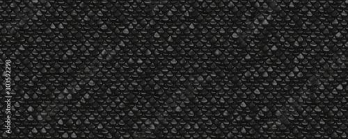 Obraz black cobra skin texture background - fototapety do salonu