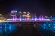 Piata Unirii Plaza Bucharest Romania beautifuul sunset fountain night