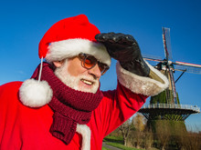 Christmas Sunny Day, Santa Cla...
