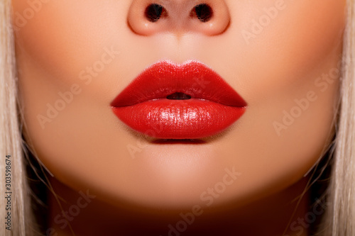 Sexy lips, Make up Tableau sur Toile