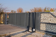 Gabion. Automatic Entrance Gat...