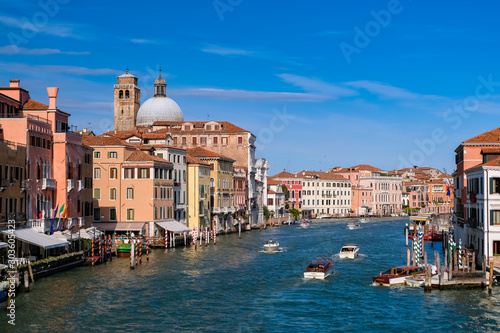 Fotografía ベネチア 大運河と街並み スカルツィ橋から