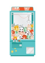 Crane Game Doll Machine Flat V...
