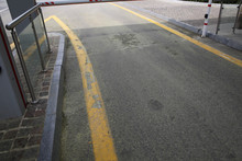 The Road Under The Barrier. Th...