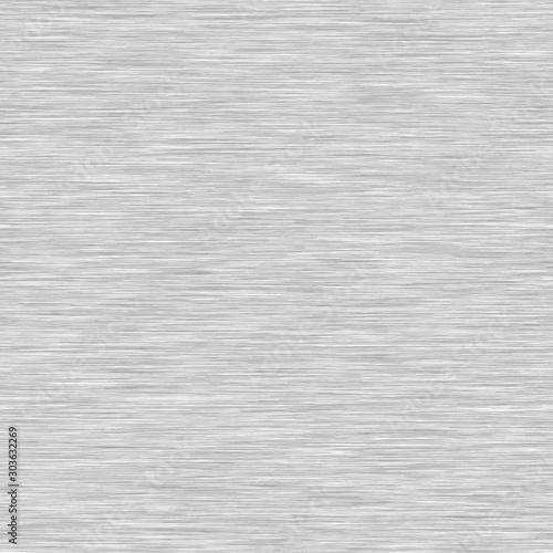 White Grey Background Triblend with Grey Marl Heather Texture. Faux Cotton Fabric with Vertical T Shirt Style. Vector Pattern in Light Gray Melange Space Dye Textile Effect. Vector EPS 10 Tile Repeat