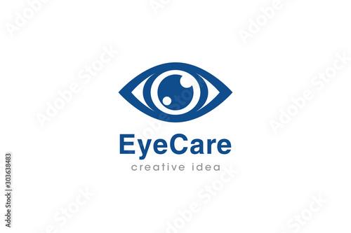 Cuadros en Lienzo  Creative Eye Concept Logo Design Template