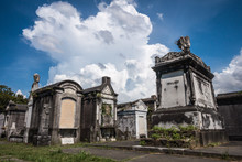 A Classic Cemetery In New Orleans