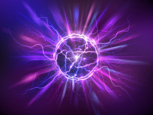 Electric Ball Or Plasma Sphere...