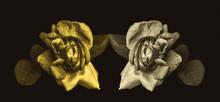 Low Key Golden Rose Blossom Pa...