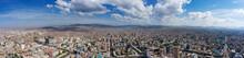 Aerial Panorama View Of Ulaanb...