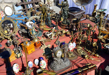 A Heap Of Valuable Antiques An...