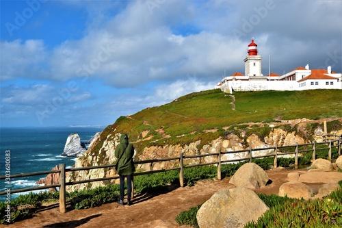 Foto auf AluDibond Cabo da Roca: the westernmost point of continental Europe