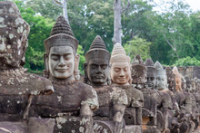 Bridge Of Angkor Thom. This Is...