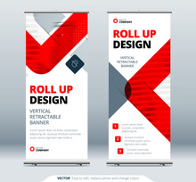 Business Roll Up Banner Stand....