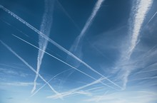 Chemtrails Over The Blue Sky
