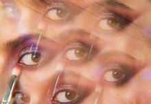 Kaleidoscopic Photo Of Womans ...