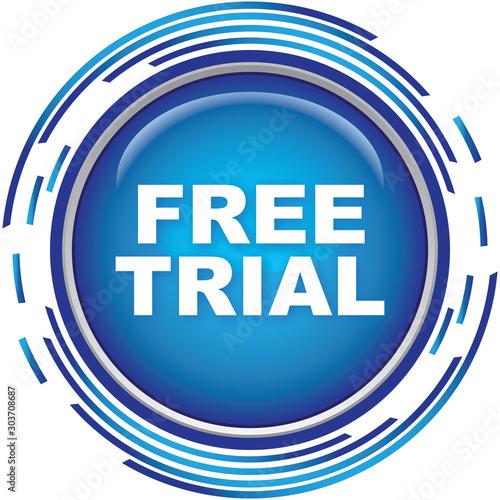 Canvas Print free trial icon