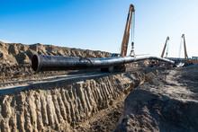 Gas Pipeline Construction. Hea...