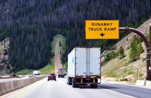 Runaway Truck Ramp Alongside A...
