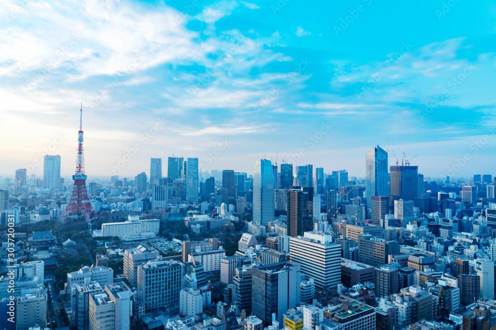 Fototapeta 都市風景 東京