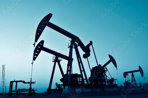 Fototapeta The oil rig obraz