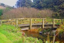 Country Bridge Over Creek