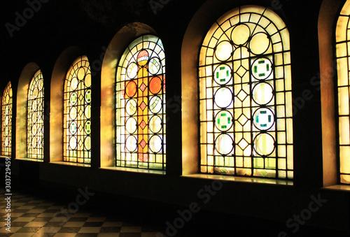 Fototapeta アレクサンドル・ネフスキー大聖堂のステンドグラス