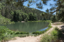 Fawn Lakes Trail In Northern New Mexico.