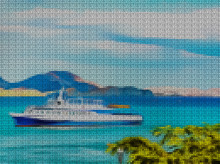 Illustration. Cross-stitch. Se...